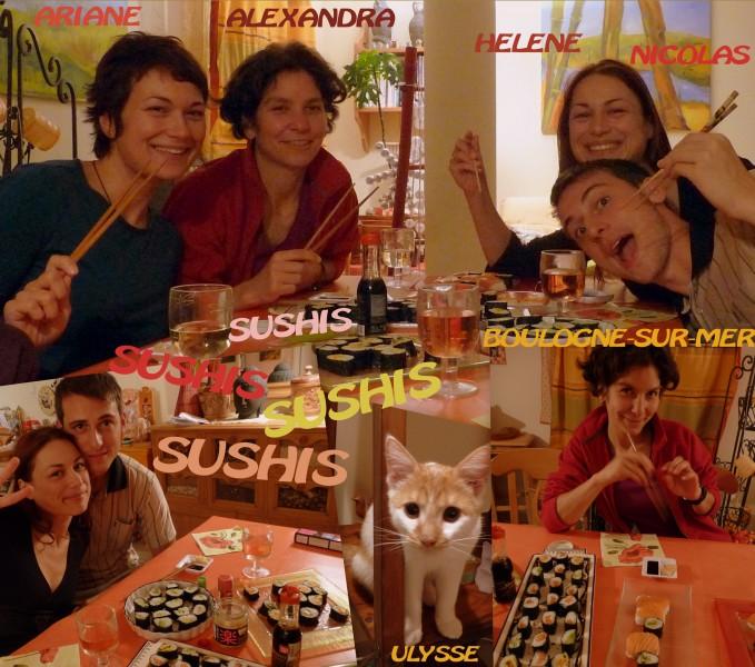 18 septembre 2009-boulogne-france-soirée sushis