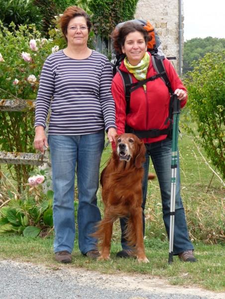 2009-09-14 France, Champ Fêtu Maman - Orval  & moi