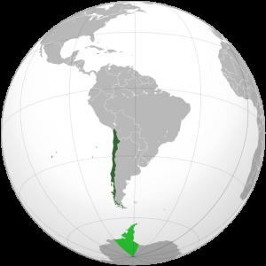 Chili carto monde